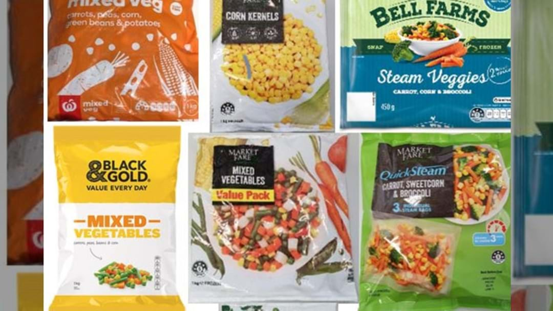 Frozen Veggies Recalled Due To Listeria Concerns