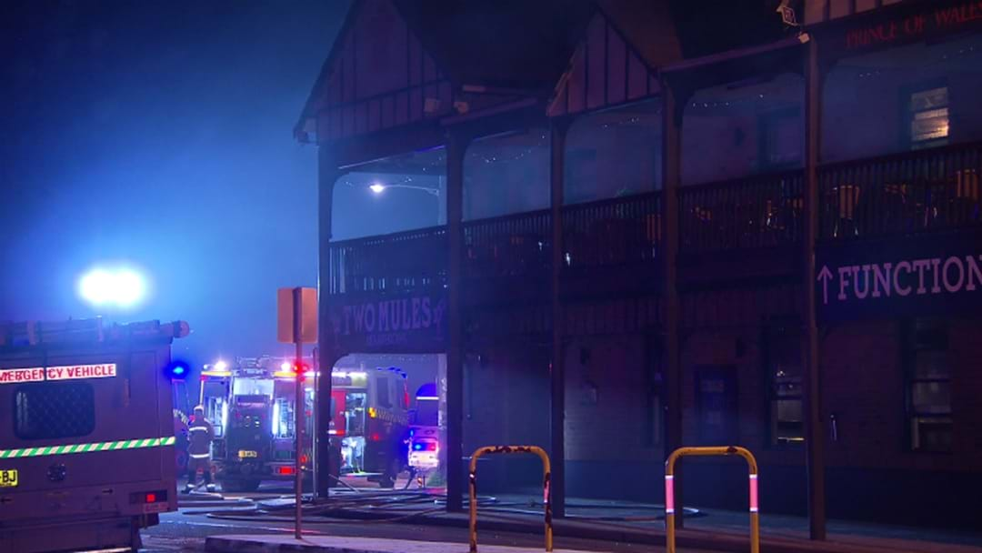 VIDEO: Fire At Popular Merewether Pub