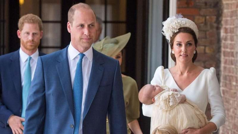 Prince Louis' Godparents Revealed Ahead of Today's Christening