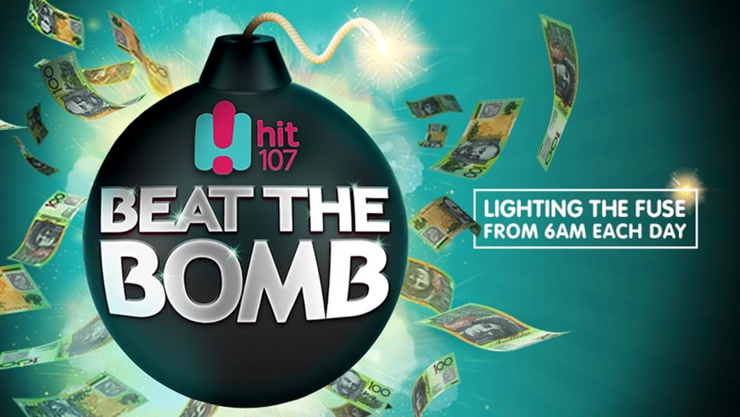 The cash bomb is loaded!