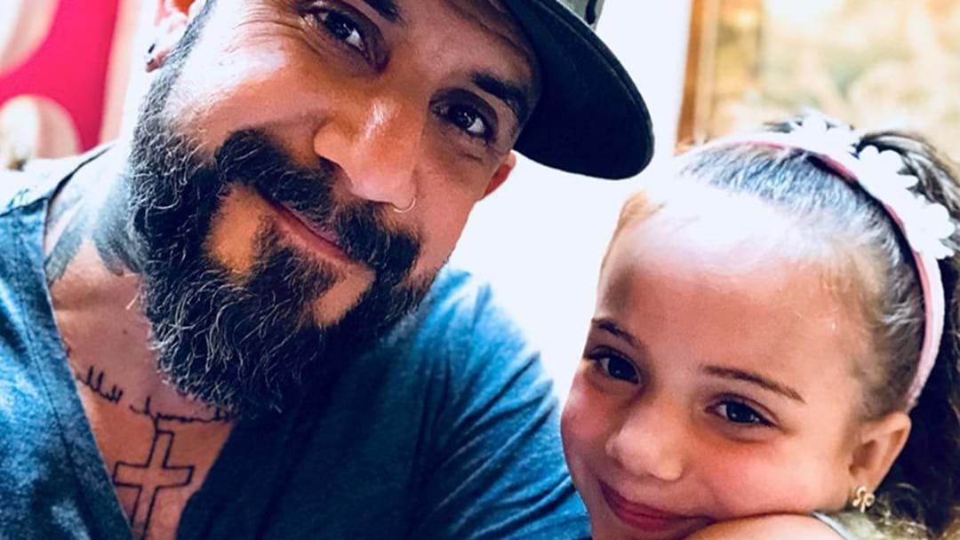 Backstreet Boy AJ McLean Is The Cutest Dad EVER!