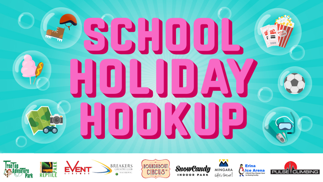 The School Holiday Hookup!