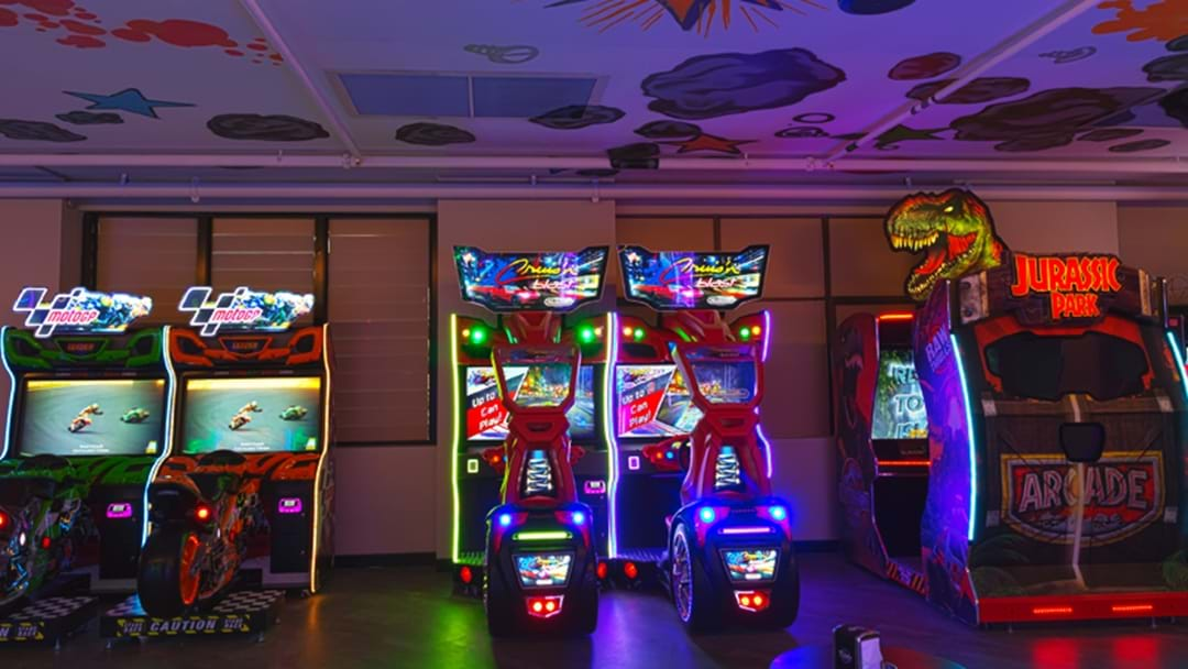 A Brand New Bowling Alley And Arcade Has Opened In Parramatta!