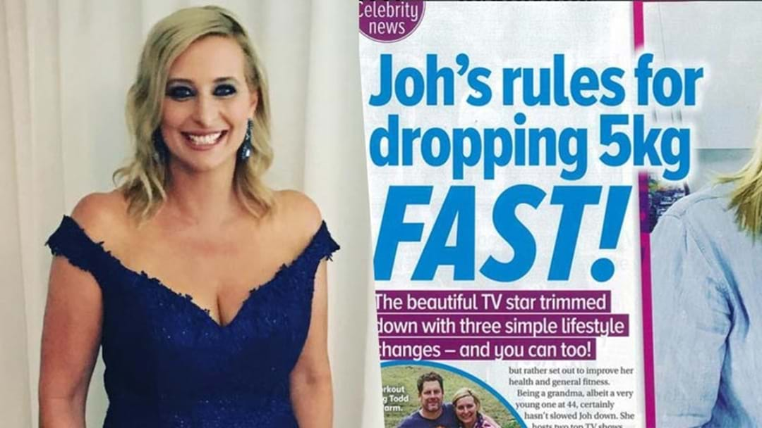 Johanna Griggs Slams Aussie Magazine Over Fake Weight Loss Story