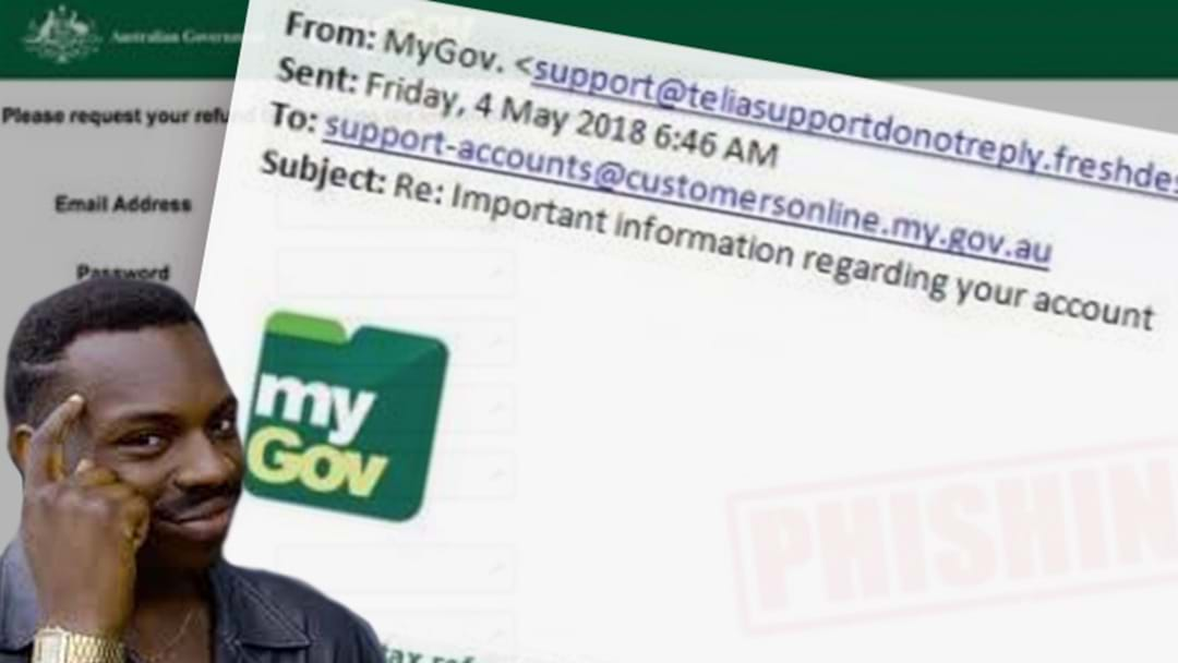 Yes, The Dodgy-Looking Email Offering You A Big Tax Refund Is A Scam