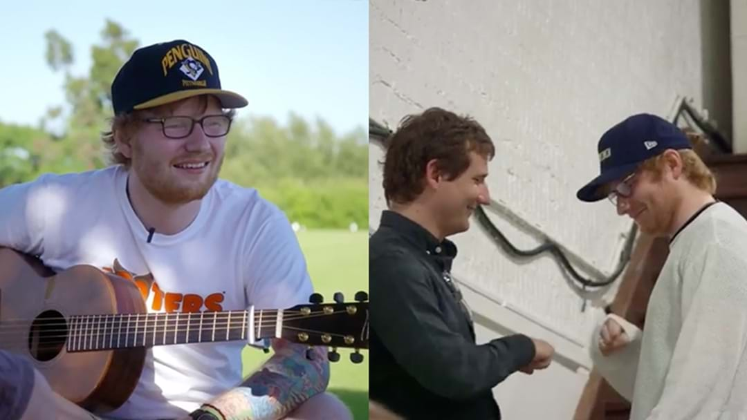 Ed Sheeran To Star In A Movie About Ed Sheeran