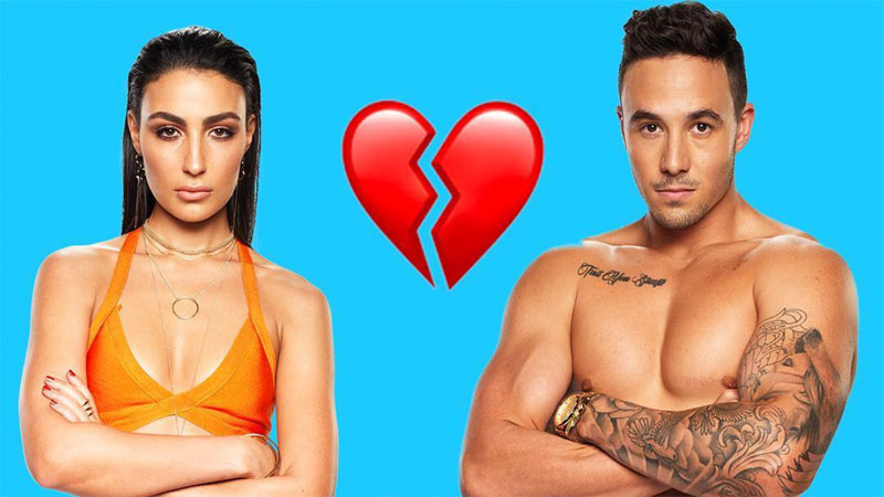 Love Island Australias Tayla and Grant have split