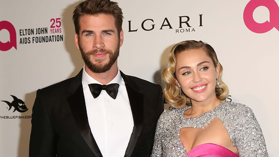 Liam Hemsworth Shuts Down Those Miley Cyrus Breakup Rumours With Video!