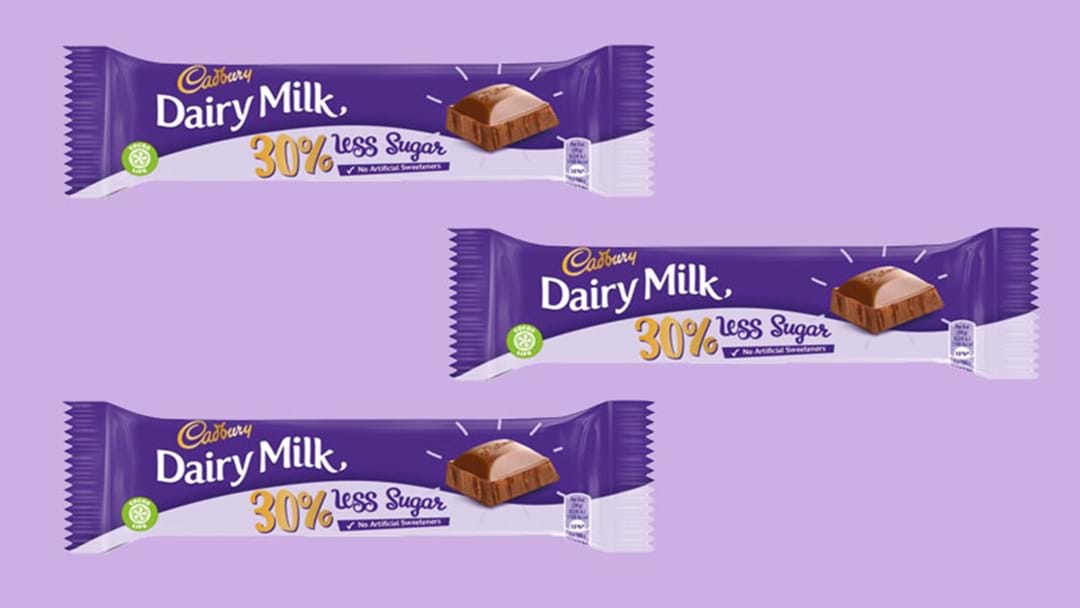 Cadbury Are Creating A Reduced Sugar Chocolate Bar & We Don't Know Why