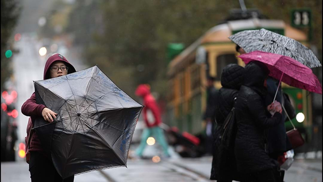 WARNING: High winds To Hit Melbourne Today