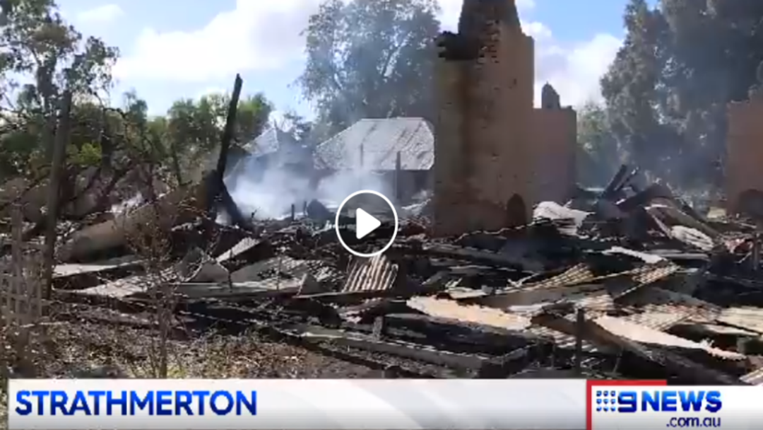 A Historic Strathmerton Homestead Has Been Gutted By Fire