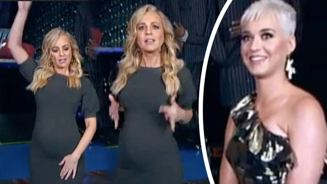 Carrie Left Embarrassed In Front Of Katy Perry In Adorable Moment