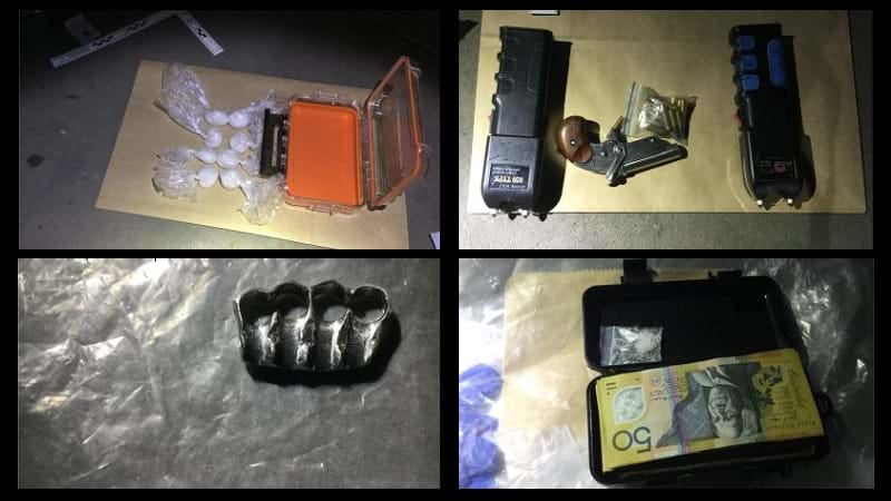 Article heading image for Police Find Weapons And Drugs After Pulling Over Stolen Car In Nerang