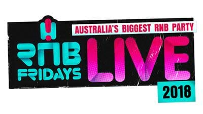 RNB Fridays LIVE Line-Up And Ticket Pre-Sale!