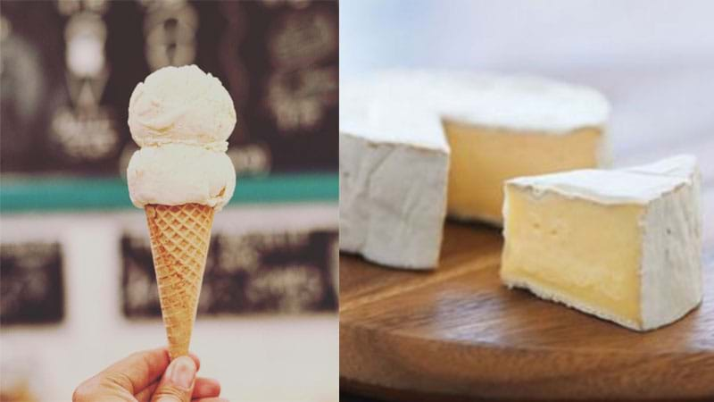 Article heading image for Feta & Brie Cheese Flavoured Ice Cream Now Exists In This Crazy World