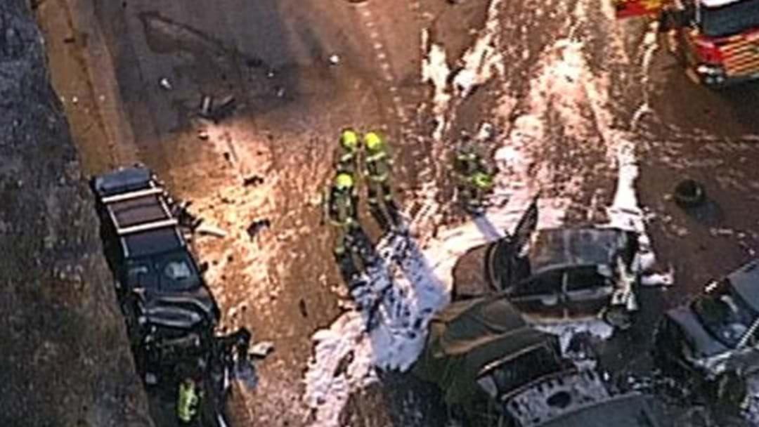 Chaos On The M1 After Major Crash Kills Two People