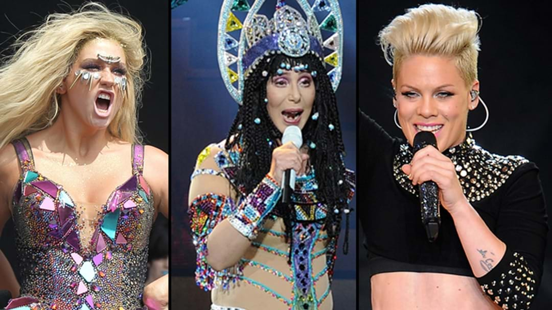 Win Tickets To See Cher, Kesha & P!NK Live!