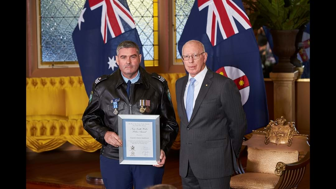 Kempsey Officer Recognised at Government House