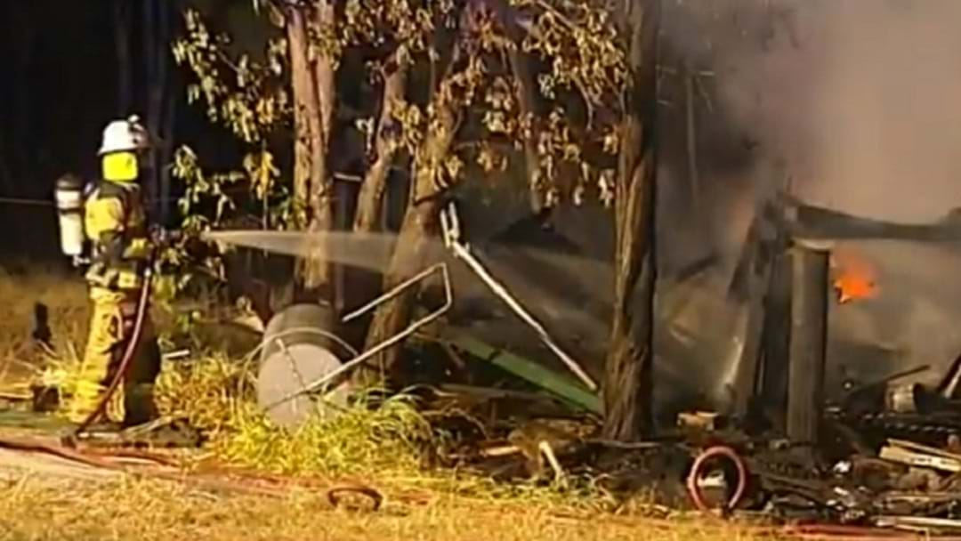 Man In Hospital With Burns After Yatala Home Destroyed By Flames