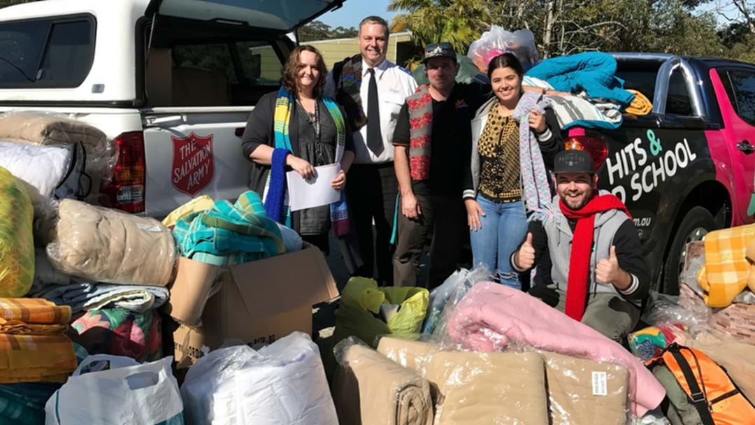 Winter Warmer Drive A HUGE Success!