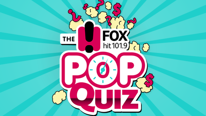 Win $10,000 with the Fox Pop Quiz!