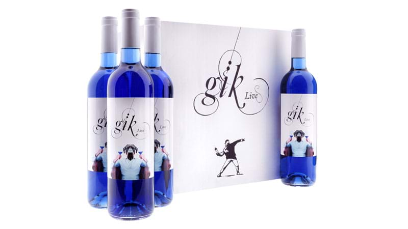 Article heading image for Natural BLUE Wine Exists & We're All For It