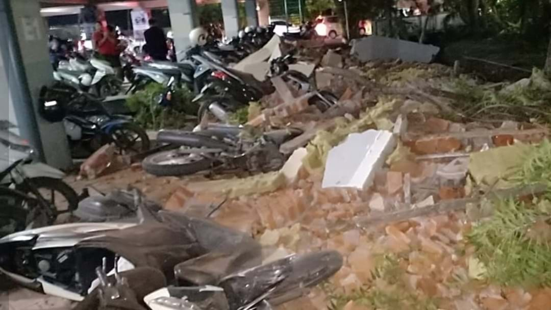 At Least 82 Dead After Powerful Earthquake In Lombok