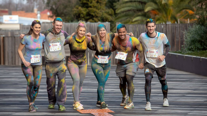 Article heading image for The Bendigo Bank Fun Run Will Add Some Colour To Your Day!