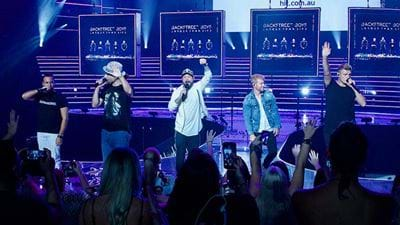 Watch The Backstreet Boys Perform On The World Famous Rooftop
