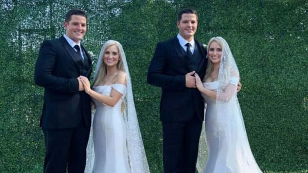 IDENTICAL Twin Sisters Marry IDENTICAL Twin Brothers & It Didn't Stop There