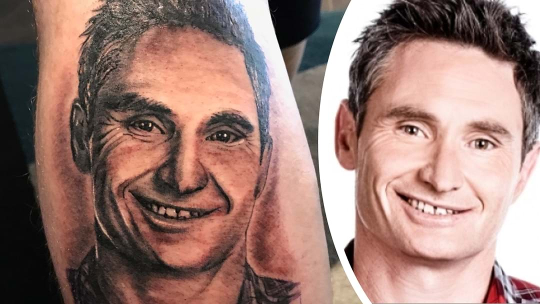 The Man with a Hughesy Tattoo on His Leg Reveals the Story Behind It