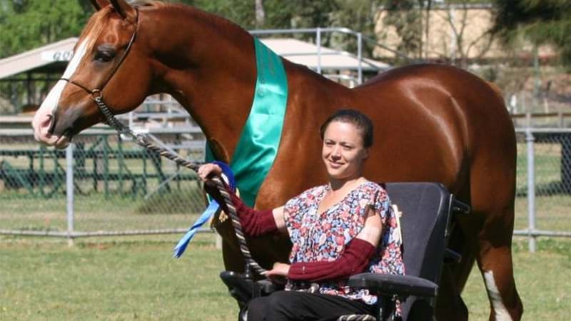 Article heading image for Penrith's Equestrian Paralympian Nicole Kullen Has Passed Away At 38
