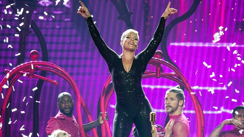 Pink Stops Concert, Walks Into Crowd to Comfort Teen Whose Mother Died