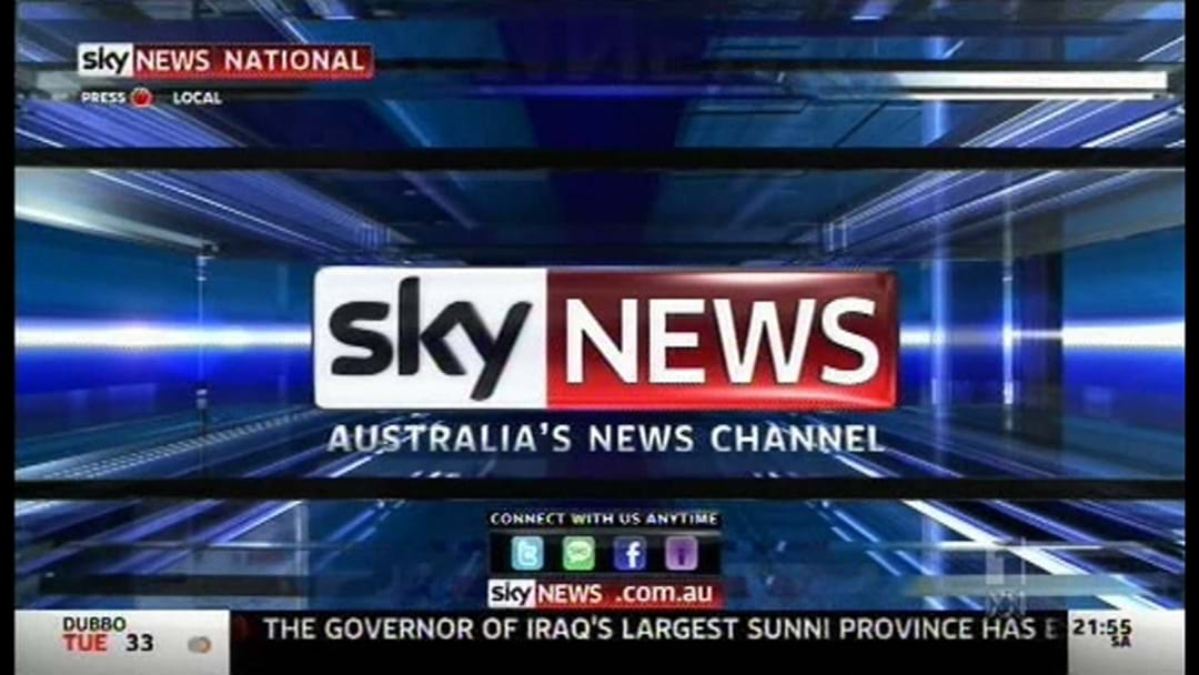 Sky News Banned From Broadcast In Melbourne Train Stations
