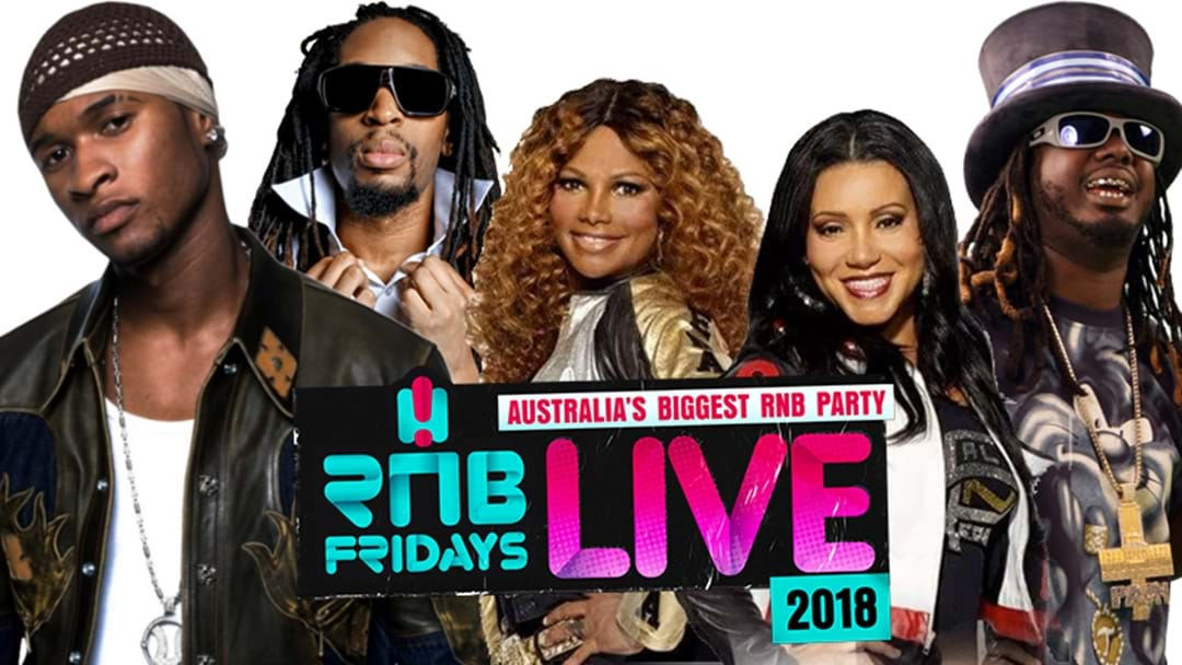 Sign Up For RnB Fridays Live Pre-Sale