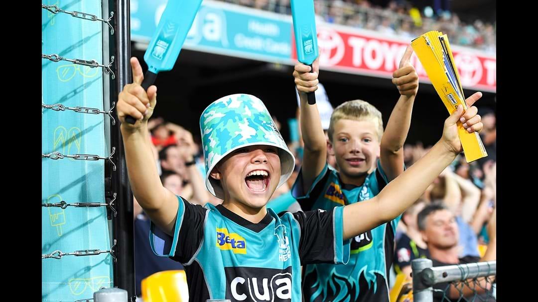 Be the spark for the Brisbane Heat this Summer and score a season membership!