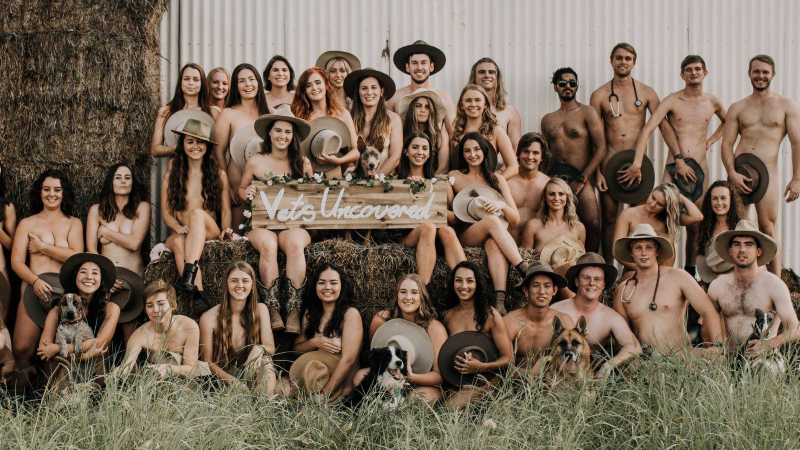 Article heading image for Future Townsville Vets Strip Off To Show Off Aussie Farmer Support