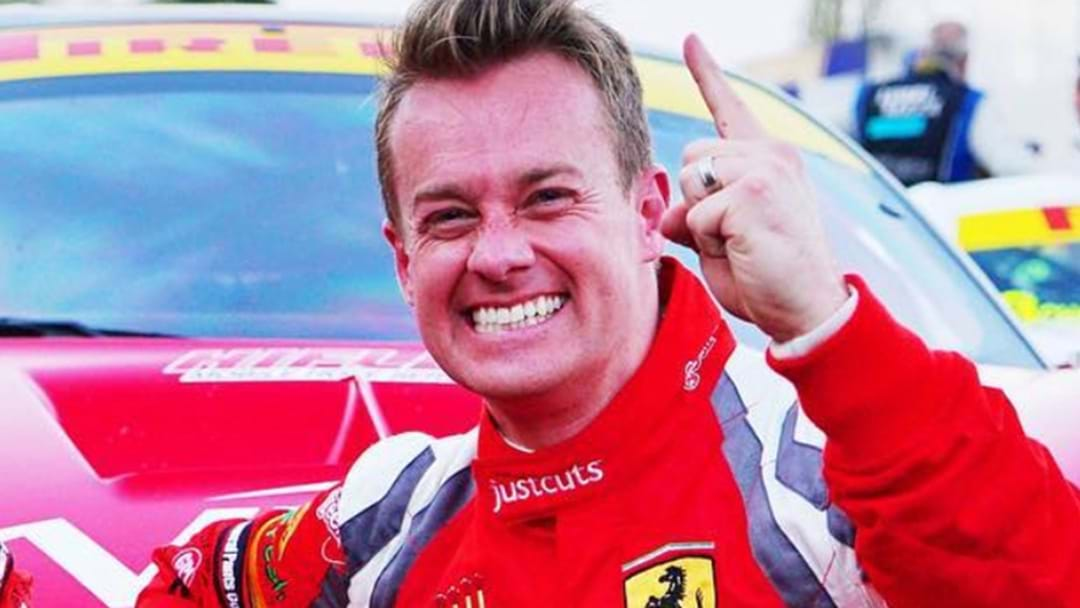 Grant Denyer Reveals A Big Secret About His Race Car Driving Career