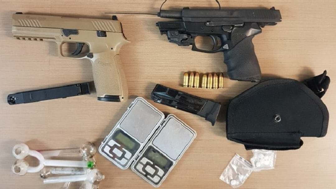 Guns, Drugs Seized From Burleigh Heads Shed