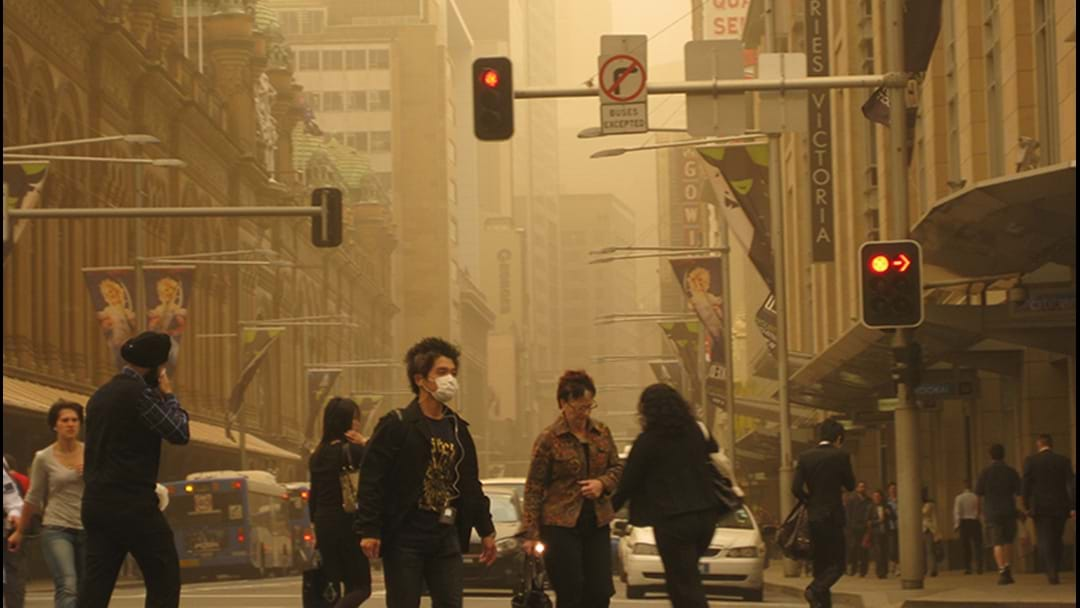 High Winds And Dry Conditions Could Stir Up Dust Storms In NSW This Week