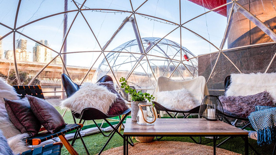 Igloos Have Arrived Along The Yarra So You Can Actually Enjoy Winter Nights