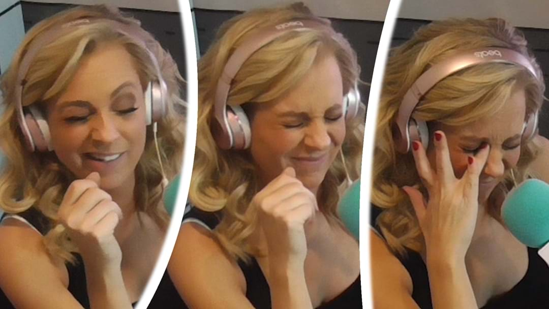 Carrie Sprays Perfume In Her Eye While On Air And Remains Totally Professional