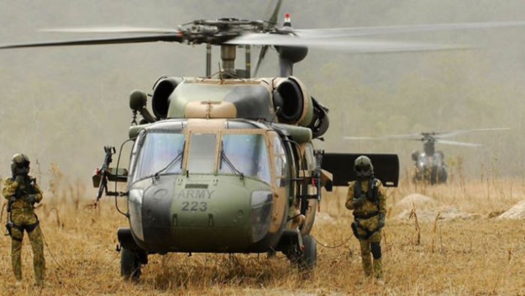 LET'S GET LOUD | Army Black Hawks Training In Townsville For 2 Weeks