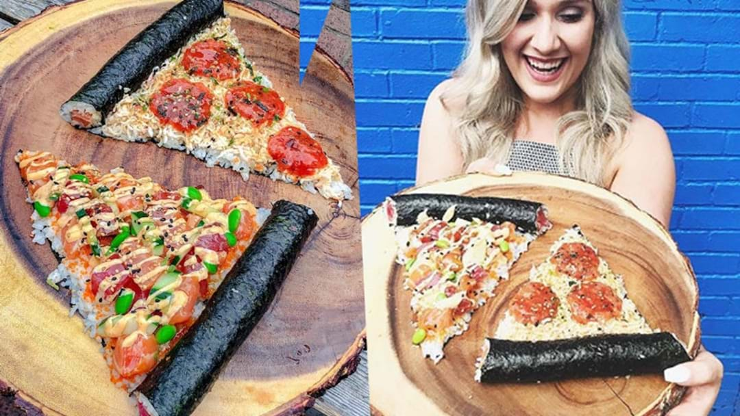 Sushi Pizza Exists & It's Your Soymate