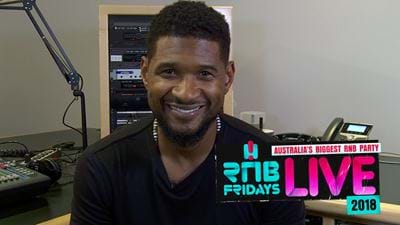 OMG! Yeahhh.. USHER is in AUS!