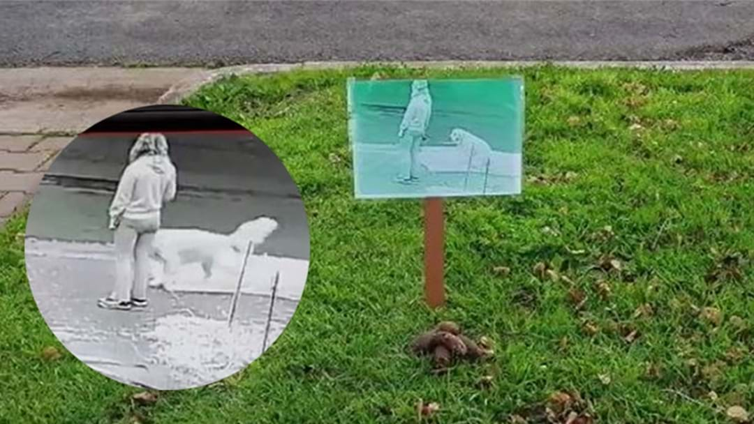 Adelaide Woman Caught Letting Her Dog Poop On Stranger's Lawn With CCTV Footage