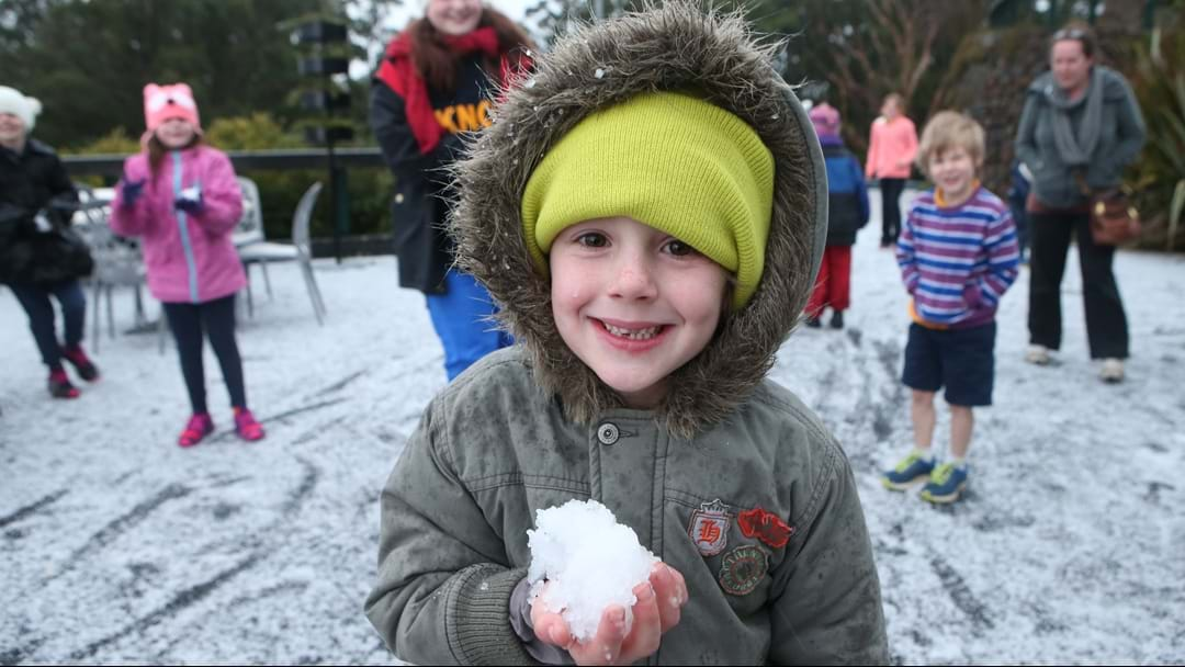 Rain Hail And SNOW Predicted For Melbourne And Surrounds This Weekend