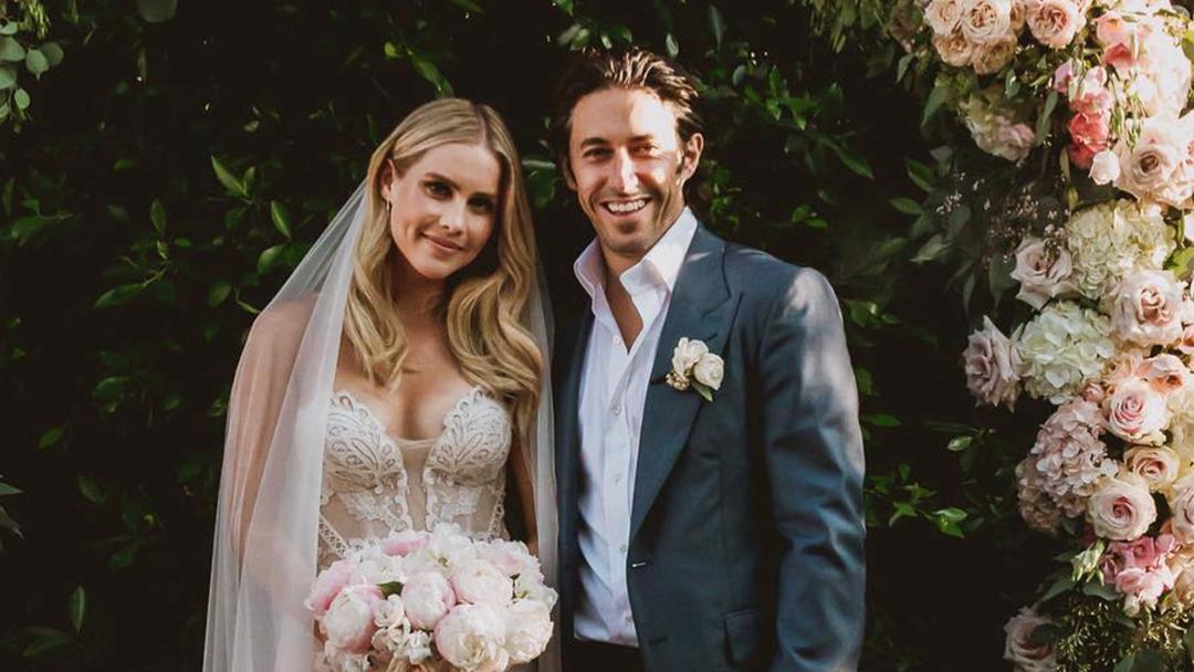 Aussie 'Vampire Diaries' Star Claire Holt's MAGICAL Wedding Pics