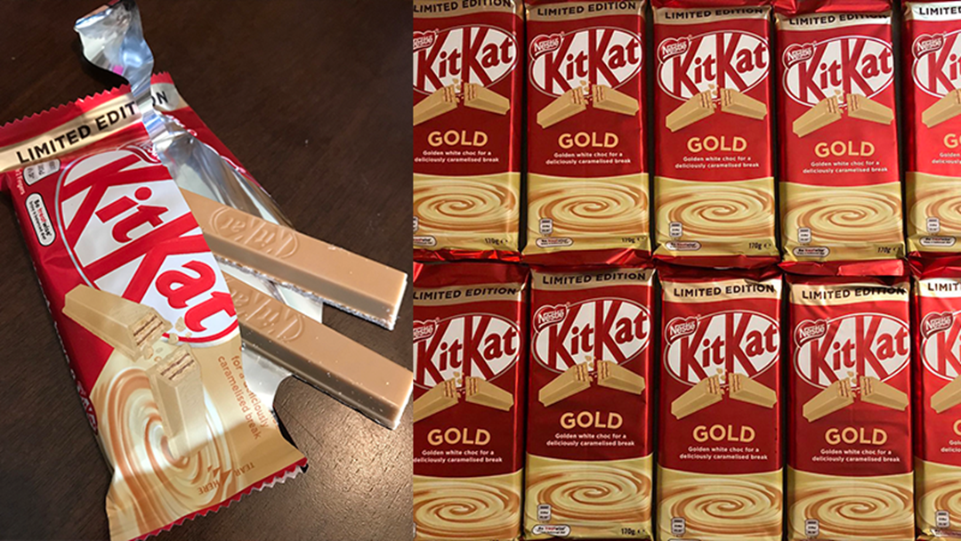 You Can Try KitKat Gold For FREE Next Month In Melbourne