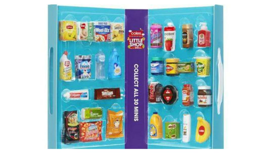 COLES EXTENDS MINI COLLECTABLES PROMOTION
